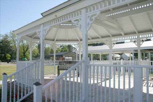 Inside the Gazebo in Black Creek